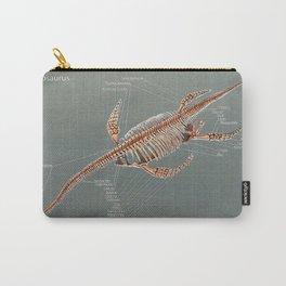 Elasmosaurus Skeleton Study Carry-All Pouch