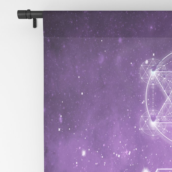 Sacred Geometry - We are Stardust Blackout Curtain