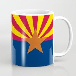 State flag of Arizona, Authentic HQ image Coffee Mug