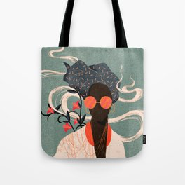 VIDA Tote Bag - Trippy 2 by VIDA