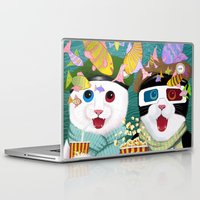 3d Laptop & iPad Skins featuring 3D by Tummeow