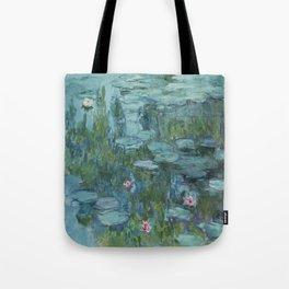 Nymphéas, Claude Monet Tote Bag