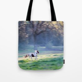 Chasing The Morning Light Tote Bag