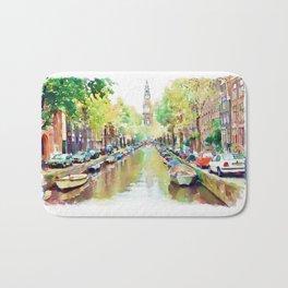 Amsterdam Canal 2 Bath Mat