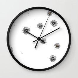 Daisy Lane Wall Clock