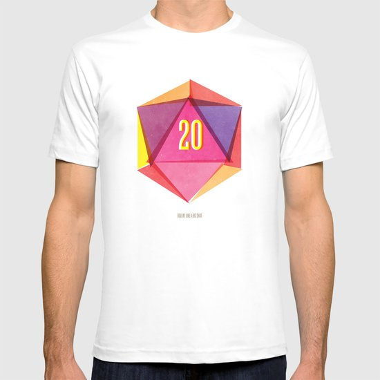 Rolling D20's Like A Big Shot  T-shirt