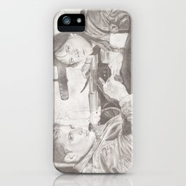 The Winchester Brothers iPhone Case