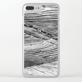 Petrified Dune Clear iPhone Case