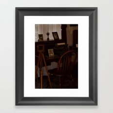 A Glimpse Back In Time Framed Art Print
