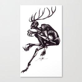 Wendigo Canvas Print