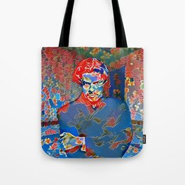 Portrait of A Young Immigrant Tote Bag