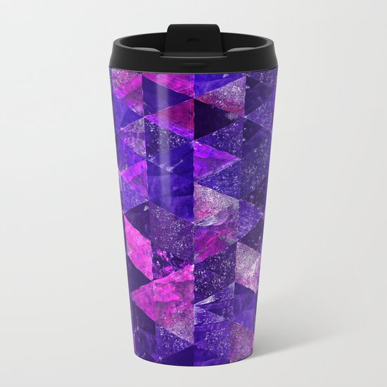 Abstract Geometric Background #18 Metal Travel Mug