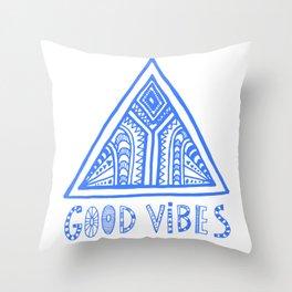 Good Vibes Mindset Throw Pillow