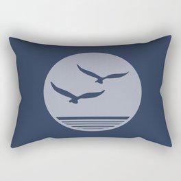 Sea Birds Rectangular Pillow