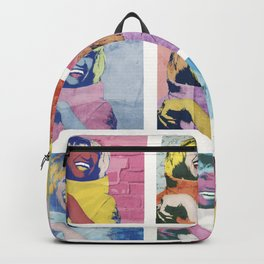 Celia Cruz Pop Art - The Immortal Queen of Salsa - Magical Realism Backpack