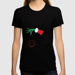 Grinch Days Til Christmas T-shirt