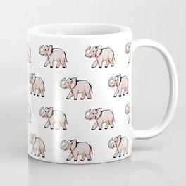 Elephant animal pattern Coffee Mug
