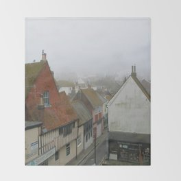 Hastings Old Town from the Jenny Lind Throw Blanket