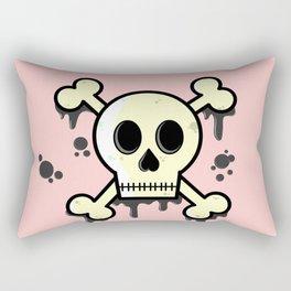 Dipped in tar Rectangular Pillow