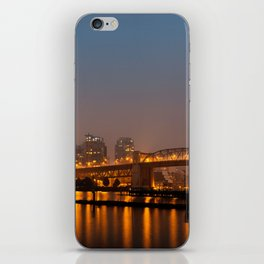 Vancouver in the Haze iPhone Skin