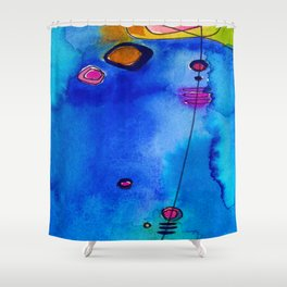 Magical Thinking No. 2C by Kathy Morton Stanion Shower Curtain