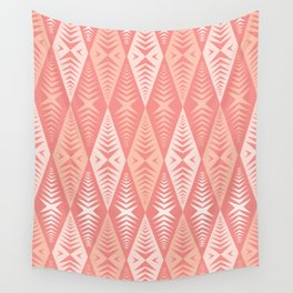 Jaws Pink Wall Tapestry