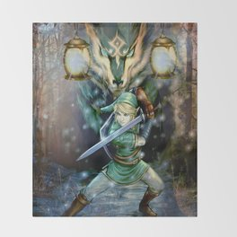 Legend Of Zelda Throw Blanket