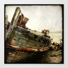 Boat Wreck #7 Canvas Print