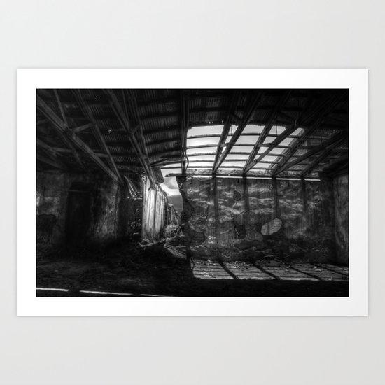 En la sombra Art Print