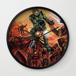 Halo-Doom Wall Clock
