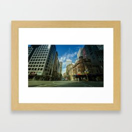 George x Bridge Street (Sydney, 2014) Framed Art Print