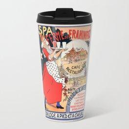 """Vintage poster """"SPA Ferme de la Frahinfaz"""" Travel Mug"""