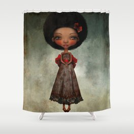 Happy Thoughts Shower Curtain