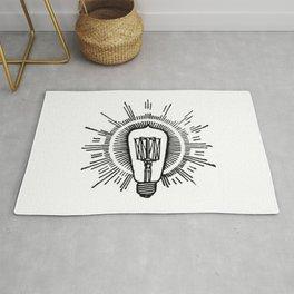 Lightbulb Rug