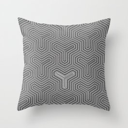Odd one out Geometric Throw Pillow