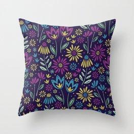 Bloomig Botanicals Throw Pillow