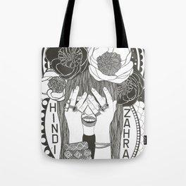 Hommage to Hindi Zahra Tote Bag