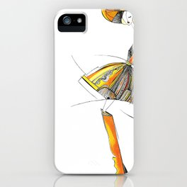 """""""The mystery of the orange hat""""  iPhone Case"""