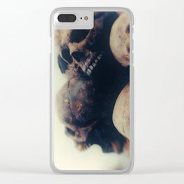 Put your heads together Clear iPhone Case