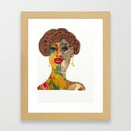 Face It 2 Framed Art Print