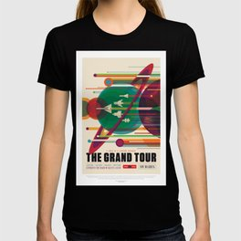 Grand Tour - NASA Space Travel Poster T-shirt