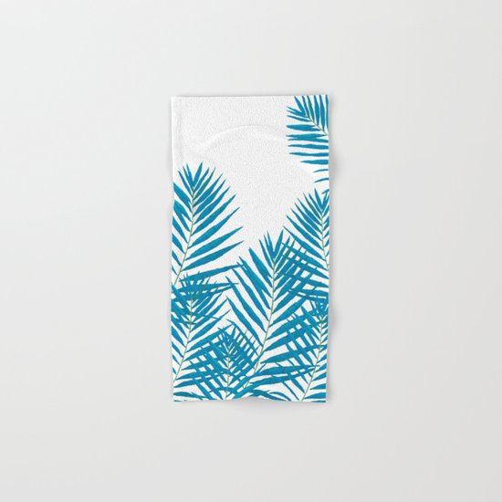 Fern Blue Hand & Bath Towel