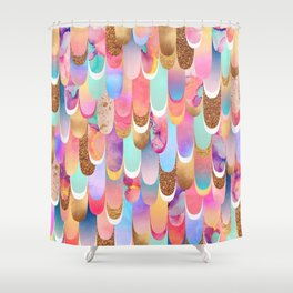 Feathered - Colorful Shower Curtain