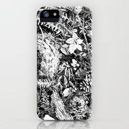 Inky Undergrowth iPhone Case