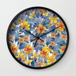 Tender Summer Wall Clock