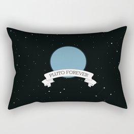 We believe pluto Rectangular Pillow