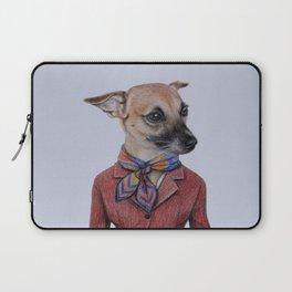 dog in uniform Laptop Sleeve