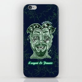 Money and Power iPhone Skin