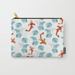 Waterlily koi Carry-All Pouch