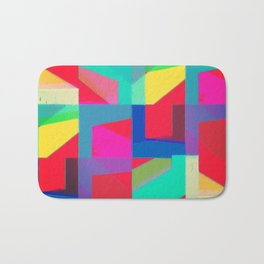 Colorful Truth. Red Bath Mat